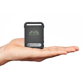 Incutex GPS Tracker TK104 Peilsender Personen und Fahrzeugortung GPS Sender -
