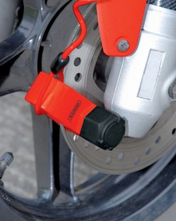 Draper 23260 Motorrad-Bremsschloss für 6mm Bremsscheiben -