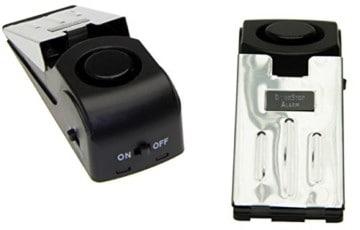Adapter-Universe® 5x Türalarm 3x Türstopper Alarm Set Fensteralarm Alarmanlage Sirene Fenster Tür -