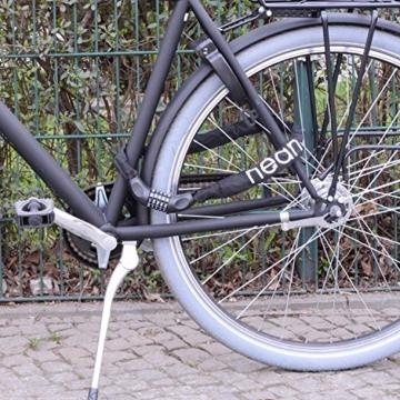 Kettenschloss Zahlenschloss Fahrrad Motorrad Schloss Zahlen Schwarz -