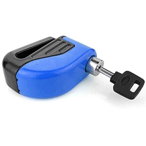Anti-Diebstahl Sicherheitsalarm, elektronisches Bremsschloss für Motorrad mit Tasche & Signalkabel -